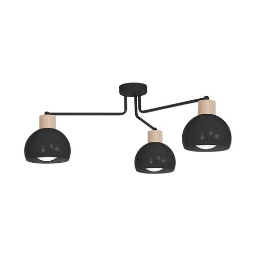Candelabru negru Capri negru 3x E27