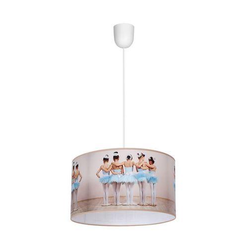 Lampă suspendată multicoloră Ballerina 1x E27