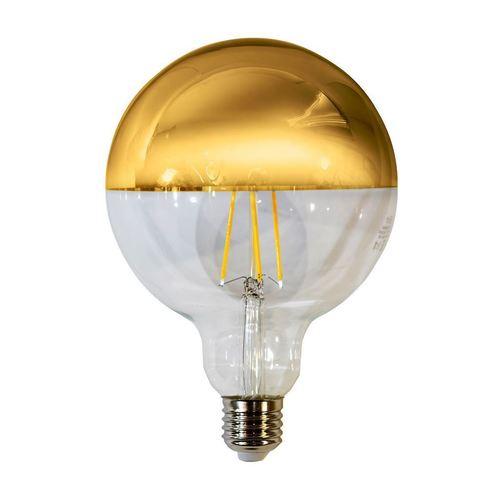 Bec cu filament LED de 7,5 W G125 E27 Aur