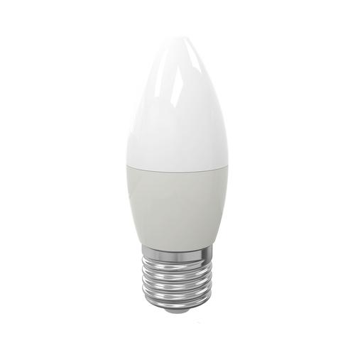 Bec cu LED 7 W E27 C37. Culoare: caldă