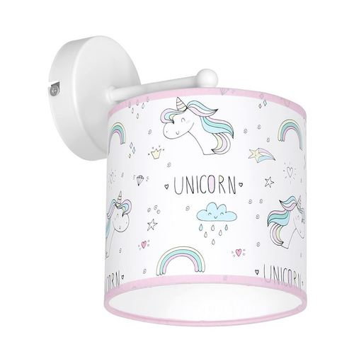 Aplica de perete multicolor Unicorn 1x E27