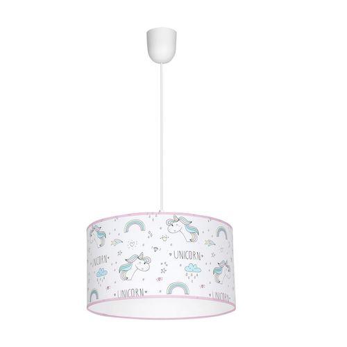 Lampă suspendată multicoloră Unicorn 1x E27