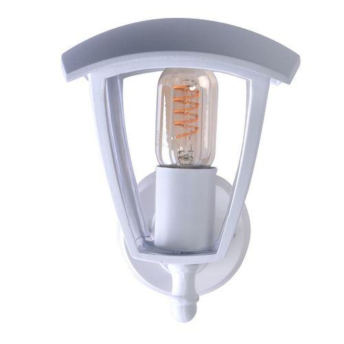 Lampă de perete Fox White 1x E27 IP44 de grădină