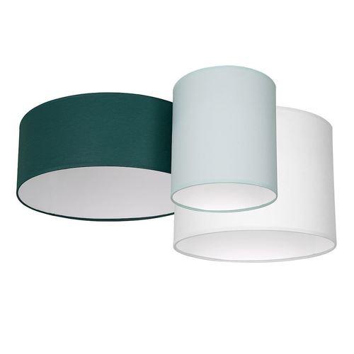 Lampă de tavan multicolor Stan Green 3x E27
