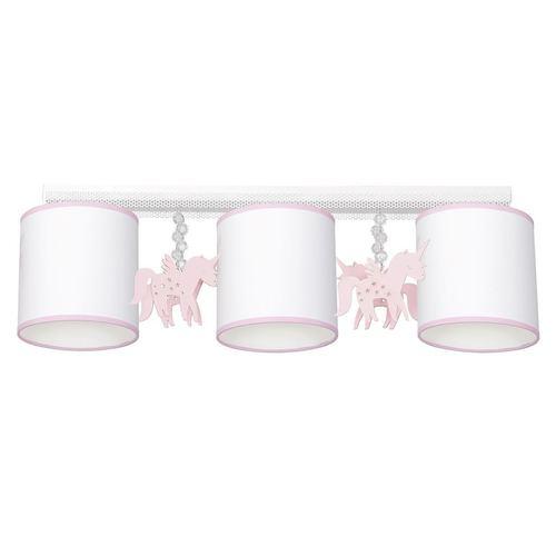 Lampă de tavan albă Uni 3x E27