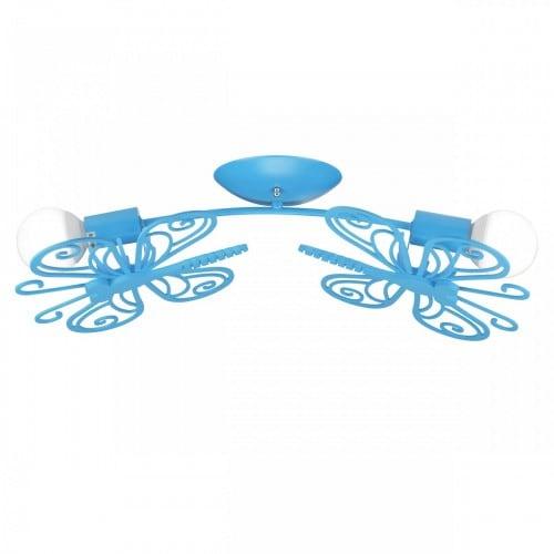 Plafonul 2 albastru