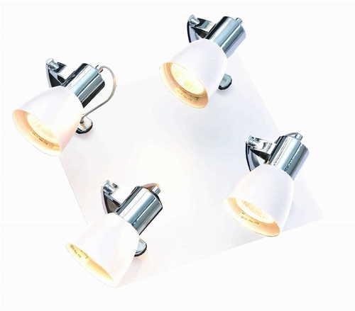 Ravenna 4 lampă de tavan albă