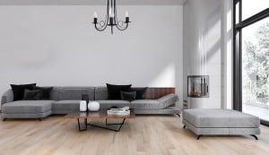 Lampa de perete perlată albă small 6