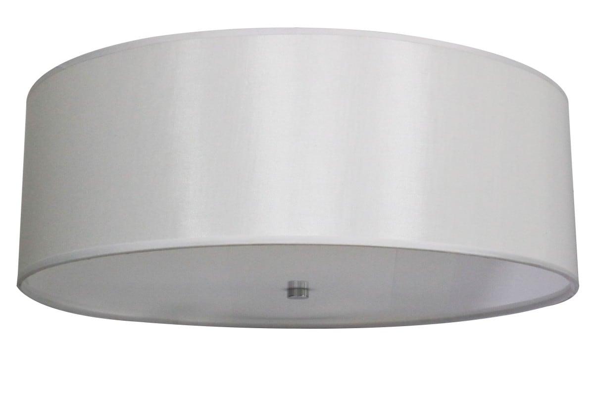 Plafonieră albă albă 80cm