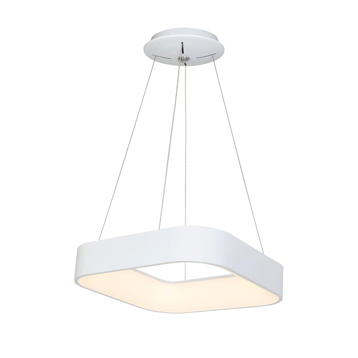 Lampa suspendată Milagro ASTRO 569 Alb mat 24W