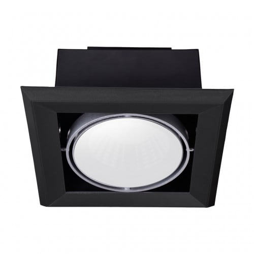 Corp de iluminat încorporat Milagro BLOCCO 472 LED negru 7W 3000K