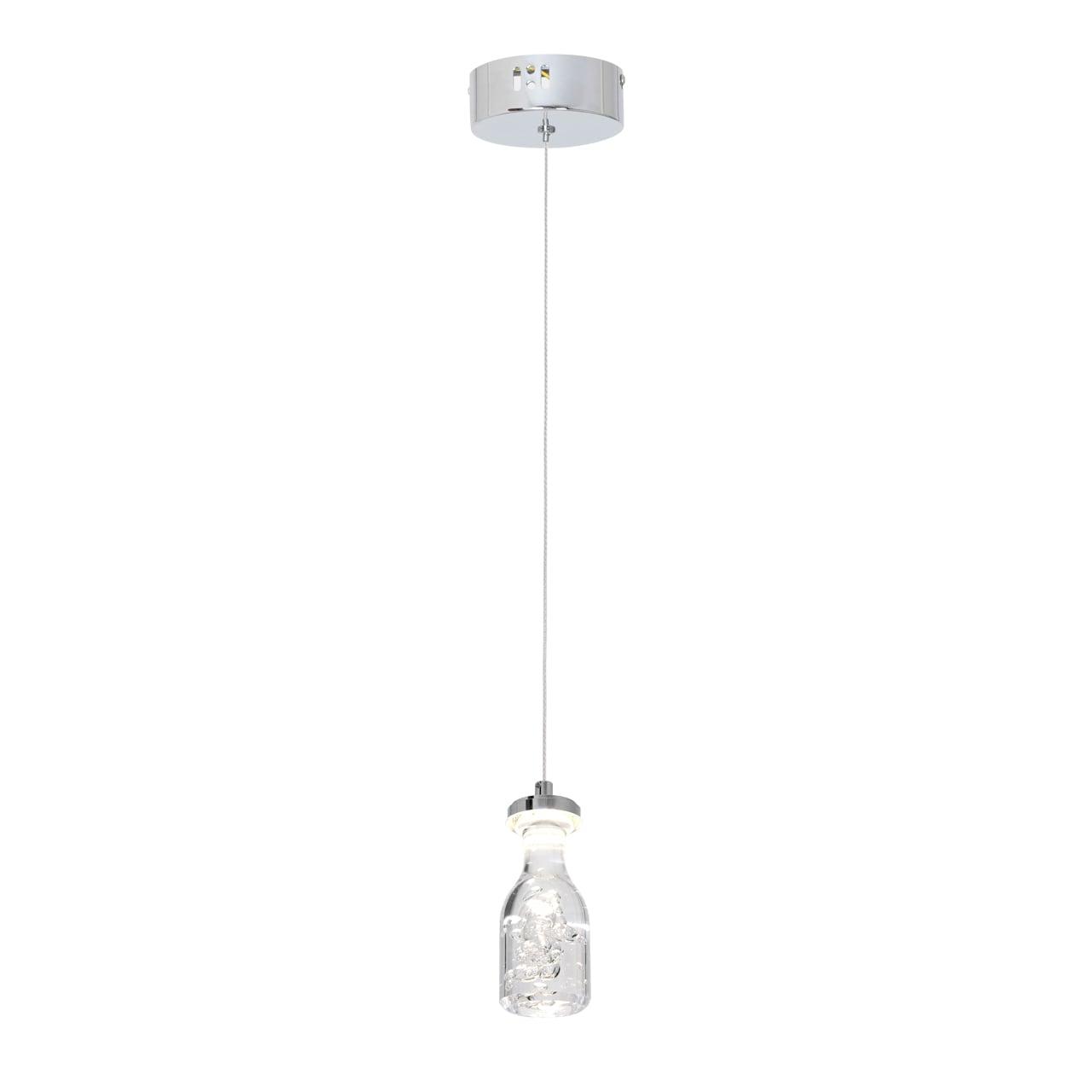 Lampa suspendată Milagro BOTTLE 431 Chrom 5W
