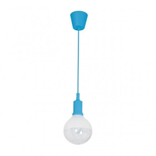 Lampa suspendată Milagro BUBBLE BLUE 457 Albastru 5W
