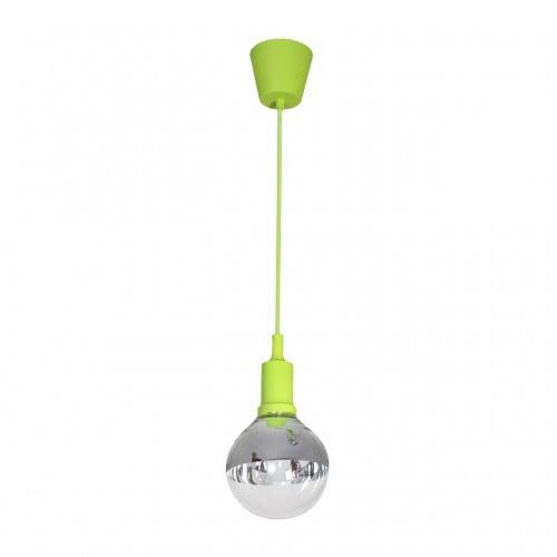 Lampa suspendată Milagro BUBBLE LIME 458 Verde 5W