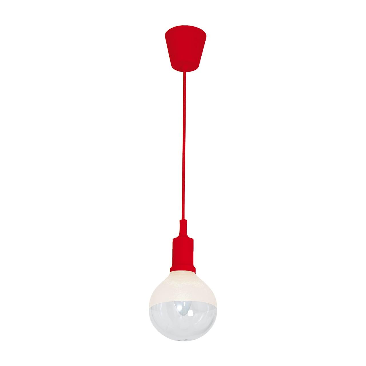 Lampa suspendată Milagro BUBBLE RED 462 Roșu 5W