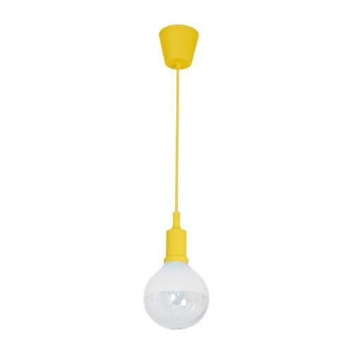 Lampa suspendată Milagro BUBBLE GALBEN 463 Galben 5W
