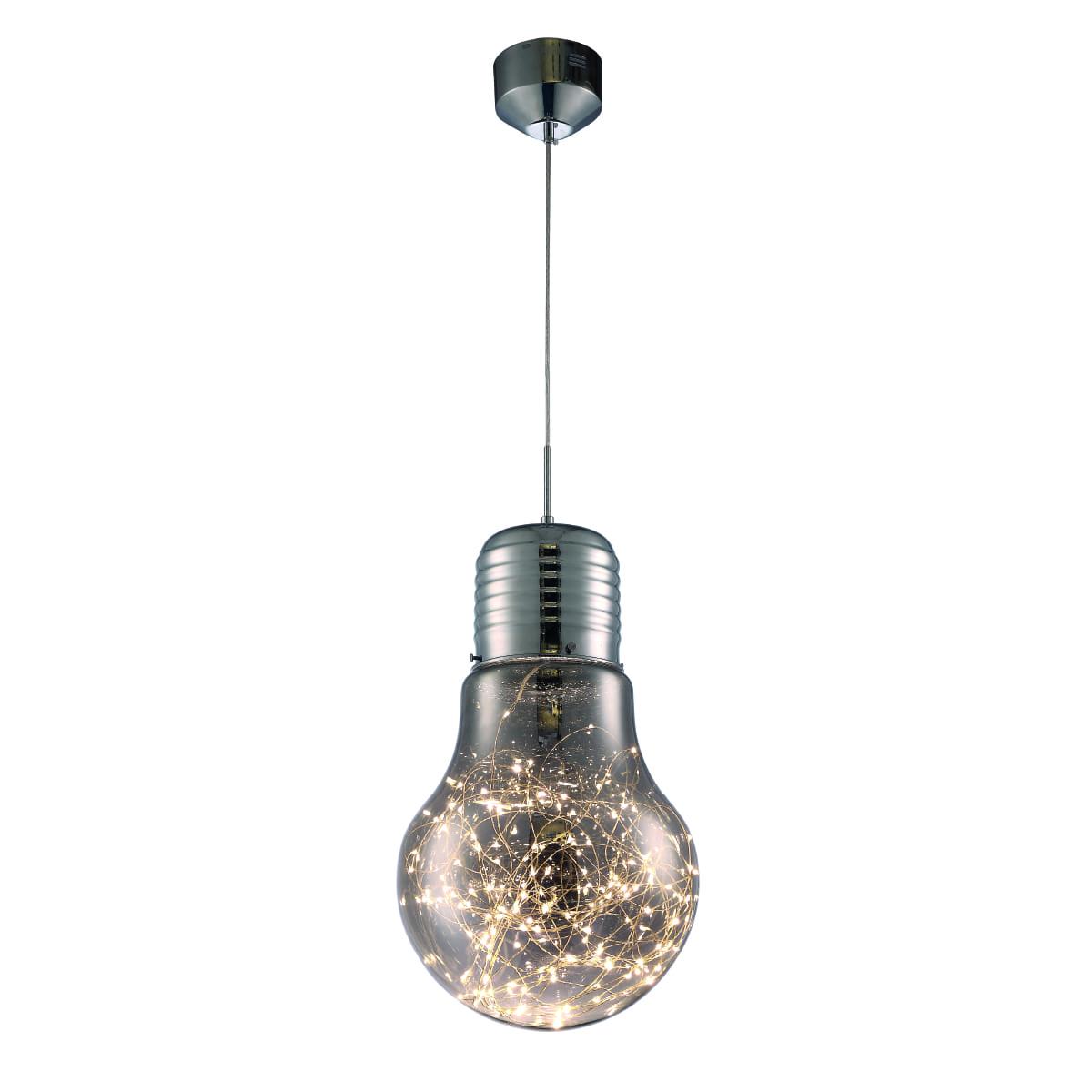 Lampa suspendată Milagro BULB 134 Chrome 13W