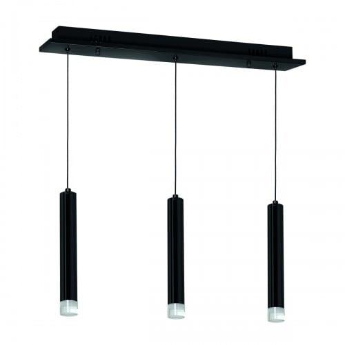 Lampa suspendată Milagro CARBON 183 Negru mat 15W