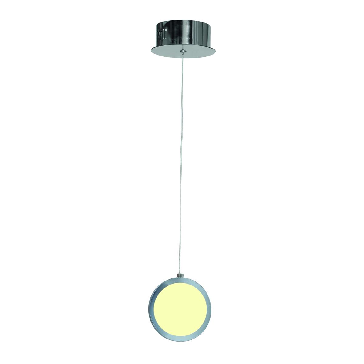 Lampa suspendată Milagro CIRCOLO 264 Chrome 7W