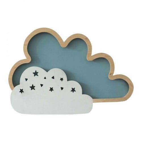 Lampă de perete Clouds Blue 8W