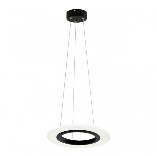 Lampa suspendată Milagro COSMO 345 Negru nisip 12W
