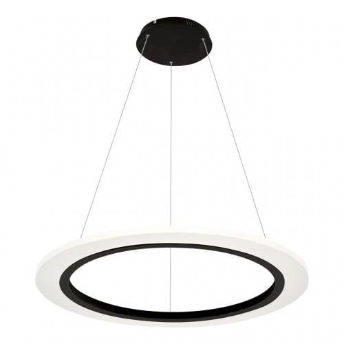 Lampa suspendată Milagro COSMO 347 Negru nisip 24W