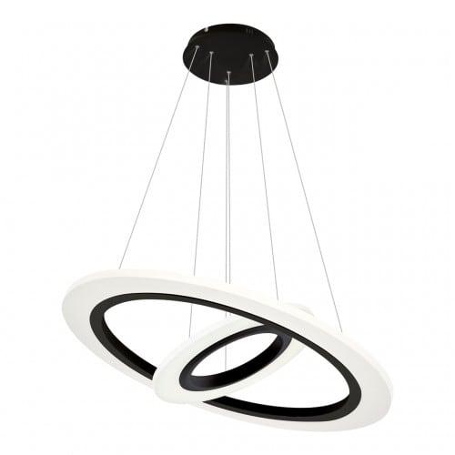 Lampa suspendată Milagro COSMO 348 Negru nisip 36W