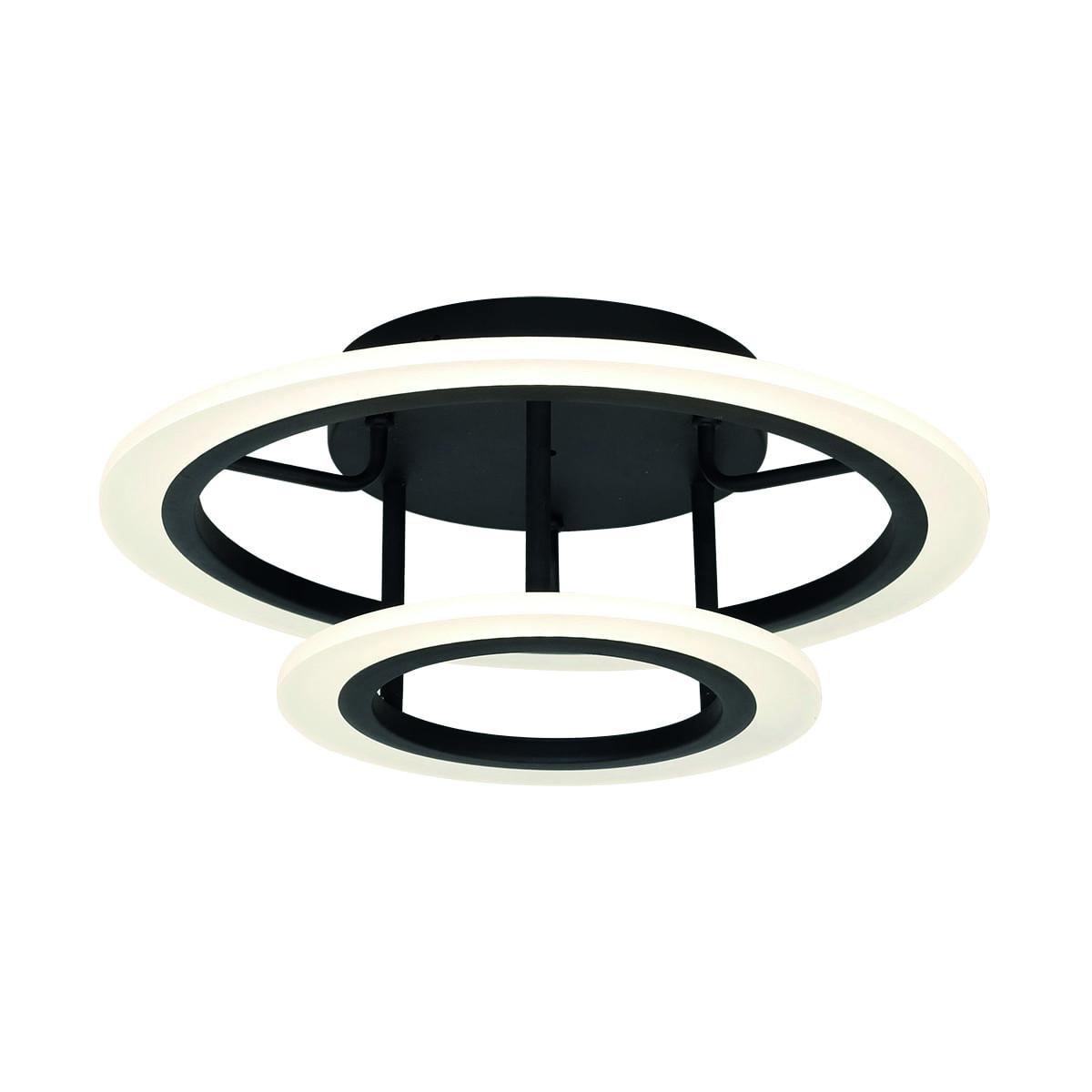 Lampa suspendată Milagro COSMO 167 Negru nisip 36W