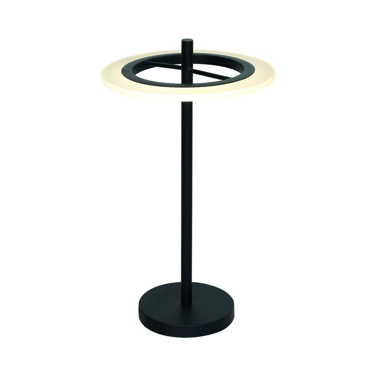 Lampa de birou Milagro COSMO 168 Negru nisip 12W