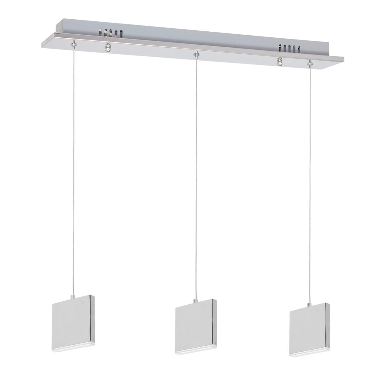 Lampa suspendată Milagro CUADRA 443 Chrom 15W