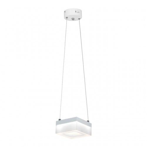 Lampa suspendată Milagro CUBO 444 Alb nisip 12W