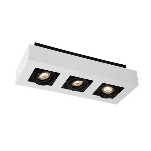Lampă de suprafață modernă Casemiro GU10 cu 3 becuri