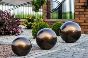 Balon decorativ pentru grădină. Alegerea culorilor 22 cm small 12