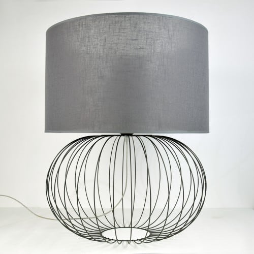 Lampa BIG BALL GREY NR 2494