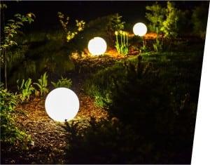 Sferă luminoasă electrică - Flexi Ball Electric 30 cm cu cablu și bec small 2