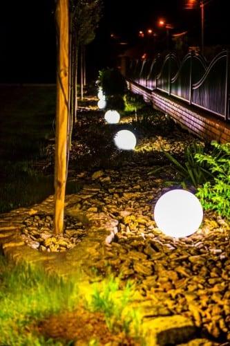 Sferă luminoasă electrică - Flexi Ball Electric 30 cm cu cablu și bec
