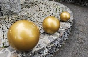 Balon decorativ pentru grădină. Alegerea culorilor 30 cm small 8