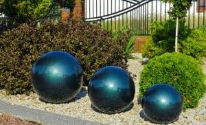 Culoare decorativă cu bilă de grădină Alegere 38 cm small 6