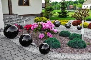 Culoare decorativă cu bilă de grădină Alegere 50 cm small 1