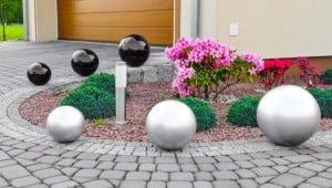 Culoare decorativă cu bilă de grădină Alegere 50 cm small 4
