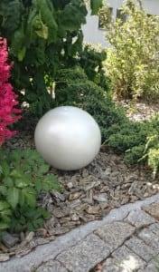 Culoare decorativă cu bilă de grădină Alegere 50 cm small 9