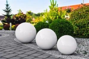 Culoare decorativă cu bilă de grădină Alegere 50 cm small 0