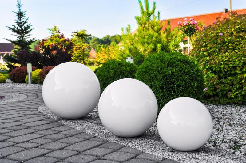 Culoare decorativă cu bilă de grădină Alegere 50 cm