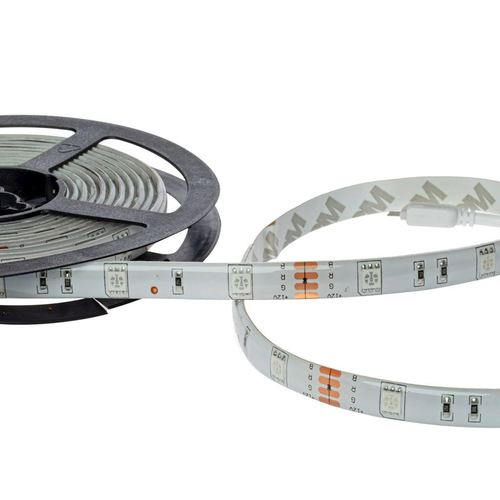 Led Rgb 5M Set cu controler IP65 și telecomandă