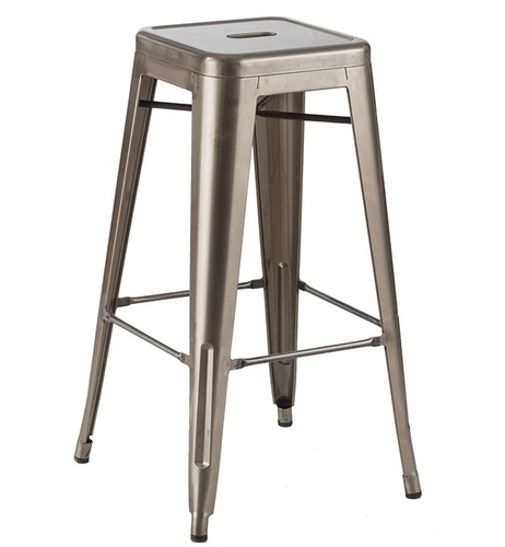 Scaun de bar TOWER (Paris) 76cm Rost Style - metal