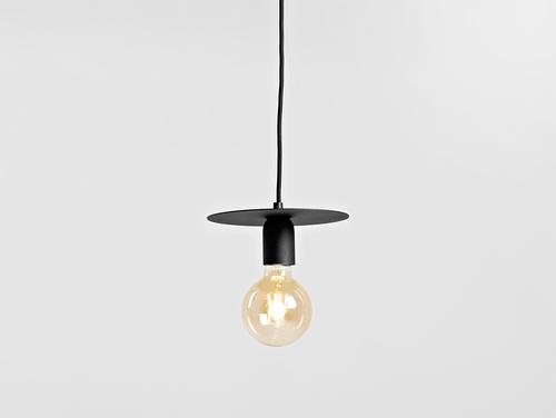 Lampă cu pandantiv SKIVA S - neagră