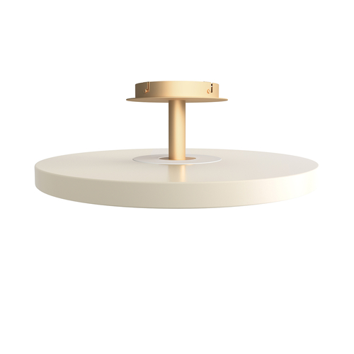 Lampă de tavan UMAGE Asteria alb perlat Ø60