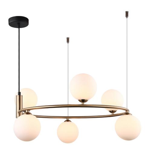 Lampă modernă suspendată Amily G9 cu 6 becuri