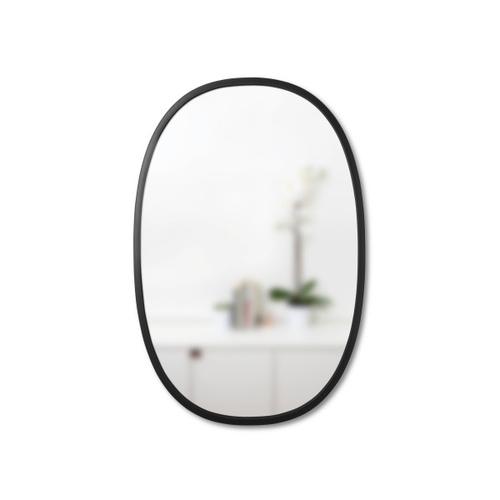 Oglindă suspendată UMBRA HUB OVAL 24x36 -negru