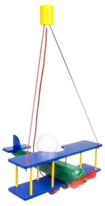 Lampă suspendată pentru un copil, Avion mare 104.11.08 small 0